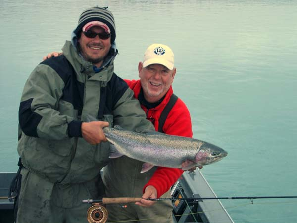 Josh Hayes, Alaska  Rainbow Trout, Kenai Fly Fishing, Kenai Trout on Fly, Josh Hayes