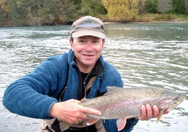 Rainbow Trout, Kenai, Troutfitters, Jake Jordan's Fishing Adventures, Alaska Trout, Jake Jordan
